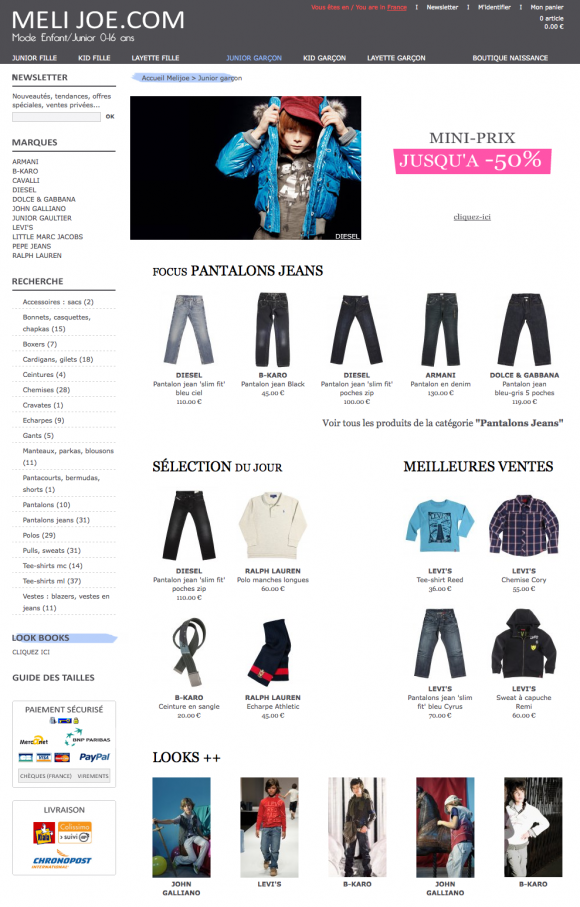 Vêtement Junior Garcon sur MELIJOE_1258927373975.png