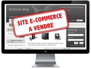 site e-commerce a vendre