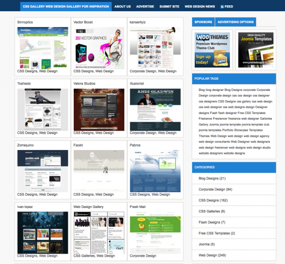 CSS Gallery Web Design Gallery For Inspiration_1265274724951.png