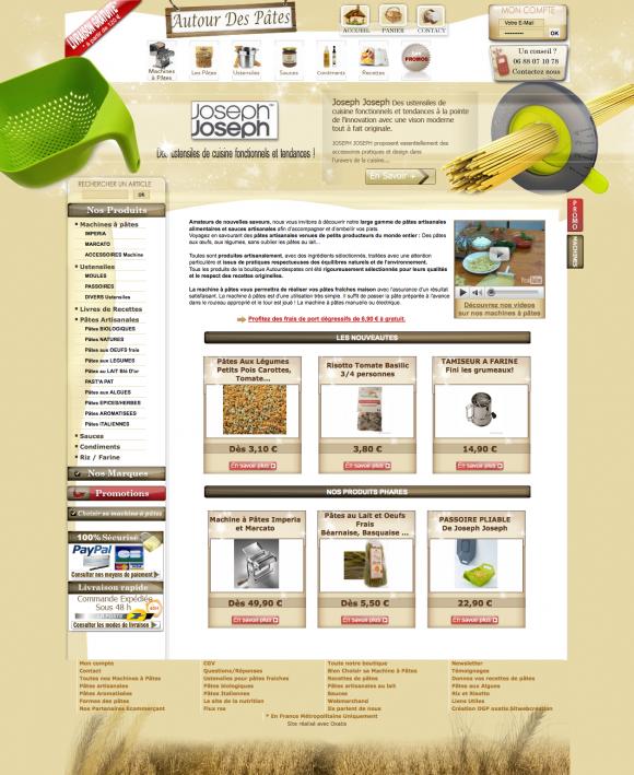 Pâtes artisanales - machines à pâtes - ses pâtes biologiques.png